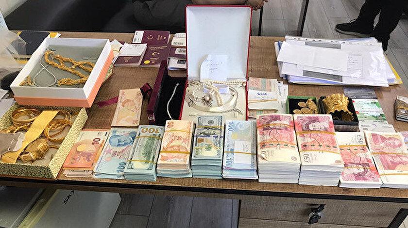 Silahlı suç örgütünün banka hesaplarında görülen 70 milyon civarındaki mevduata el konuldu ve operasyonda gözaltı sayısı 67'den 74'e yükseldi.