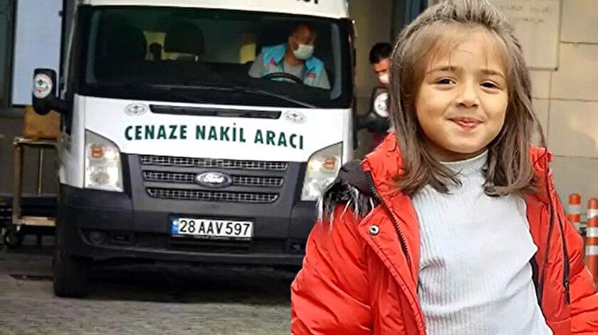 İkranur Tirsi'nin cansız bedeni ön otopsi ardından Trabzon'da detaylı otopsiye gönderildi.