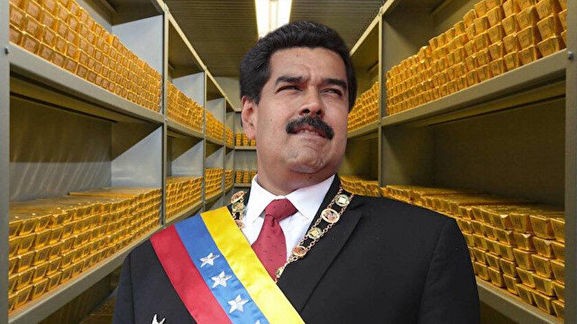 Altınlarını Türkiye'ye gönderme kararı alan Venezuela'nın altın rezervine İngiltere el koydu