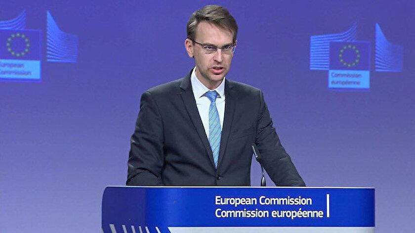 Avrupa Birliği Komisyonu Sözcüsü Peter Stano.
