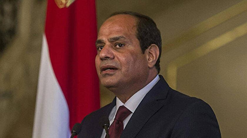 Mısır'ın darbeci Cumhurbaşkanı Abdülfettah Sisi.