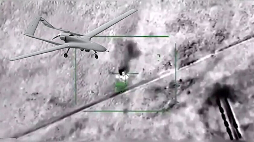 TSK'ya ait SİHA'lar hem İdlib'de hem de Libya'da çok sayıda Pantsir-S1 hava savunma sistemini imha etti.