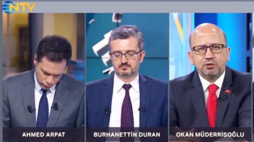 Sabah Gazetesi Ankara Temsilcisi Müderrisoğlu.