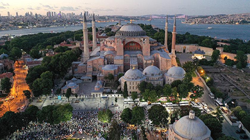 Ayasofyaya giriş ücretsiz mi? Cumhurbaşkanı Erdoğan açıkladı