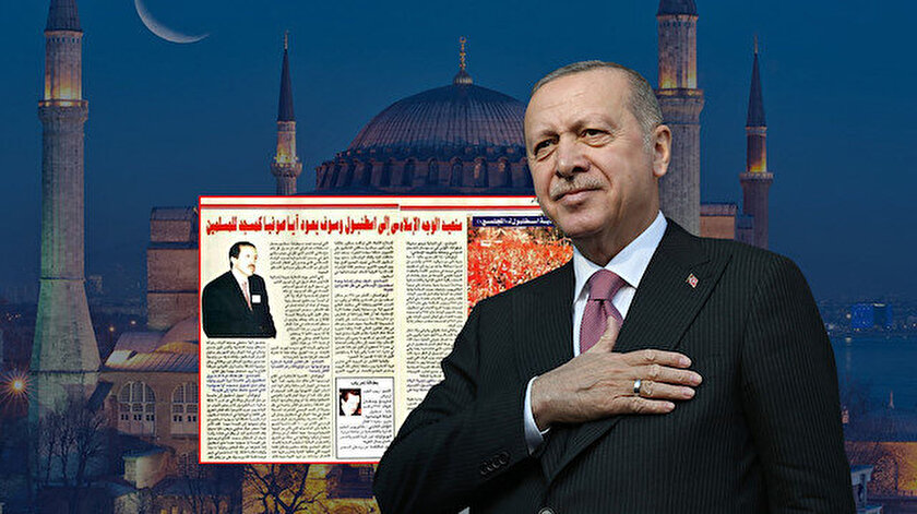Cumhurbaşkanı Erdoğan, sözünü tuttu ve Ayasofya Müslümanlara cami olarak geri döndü.