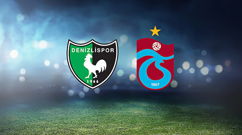 Denizlispor Trabzonspor maçı ne zaman, saat kaçta, hangi kanalda? Trabzonspor muhtemel 11