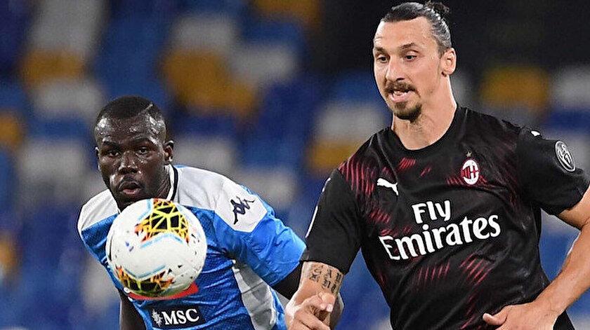 Milan'ın dünya yıldızı golcüsü Ibrahimovic, karşılaşmada 61 dakika süre aldı.