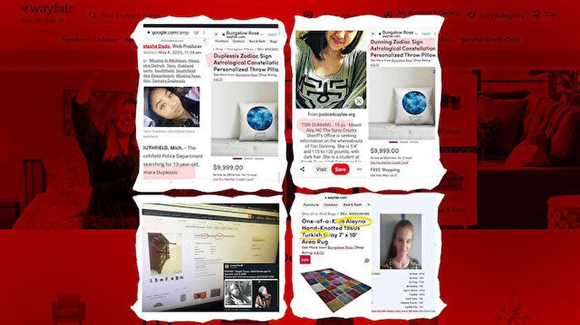 Wayfair adındaki alışveriş sitesindeki ilanlar büyük tartışmaya kapı araladı.