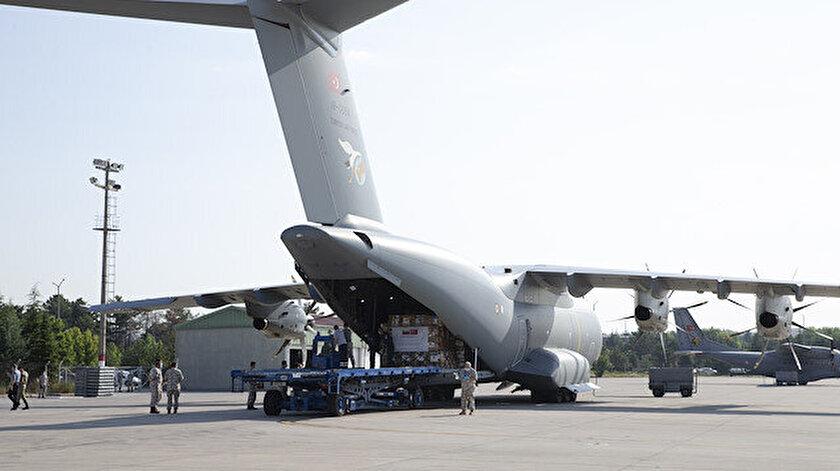Türkiye, Venezuela'ya bir uçak dolusu tıbbi malzeme gönderdi.