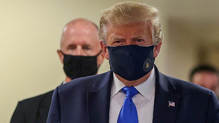 ABD Başkanı Trump'tan 'maskeli vatanseverlik' mesajı: Favori başkanınızım