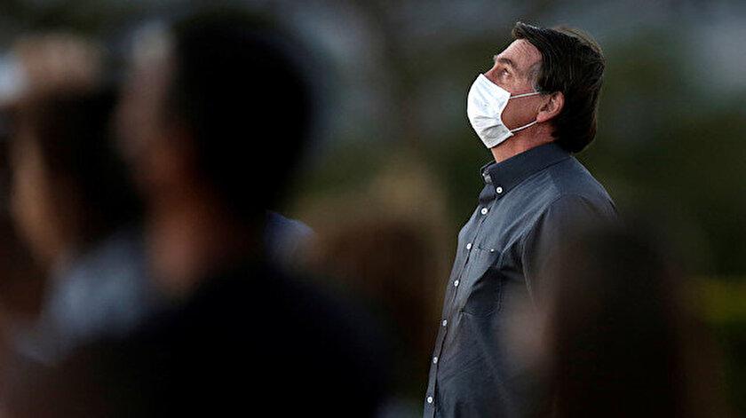 Brezilya Devlet Başkanı Bolsonaronun üçüncü koronavirüs testi de pozitif çıktı