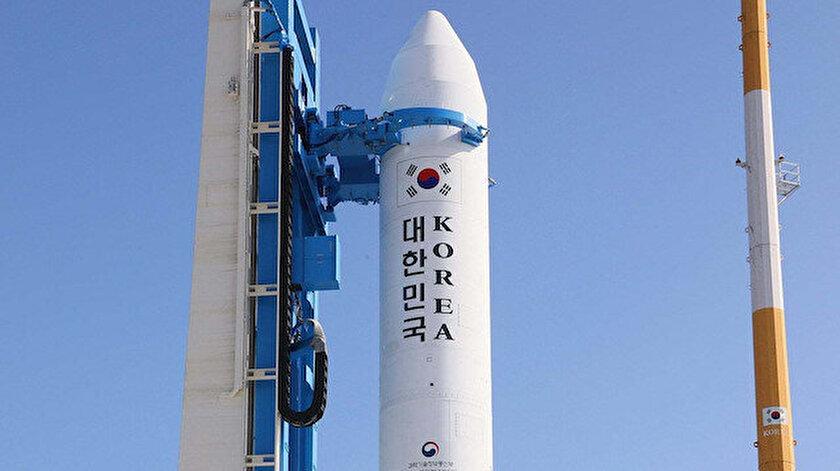 Güney Kore, Ay'ın yörüngesine roket fırlatacak.