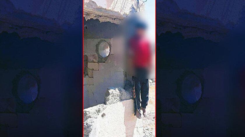 PKK'lı teröristler tarafından infaz edilen Yasir Halef