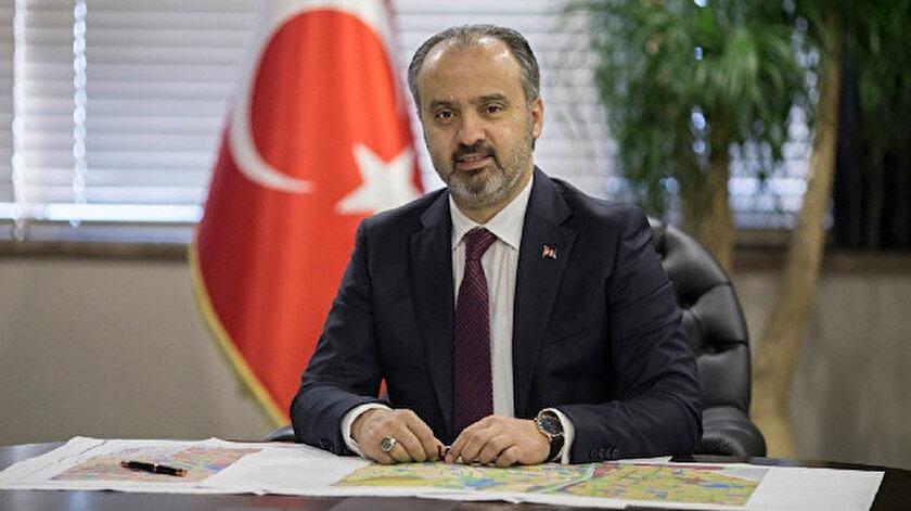 Bursa Büyükşehir Belediye Başkanı Alinur Aktaş