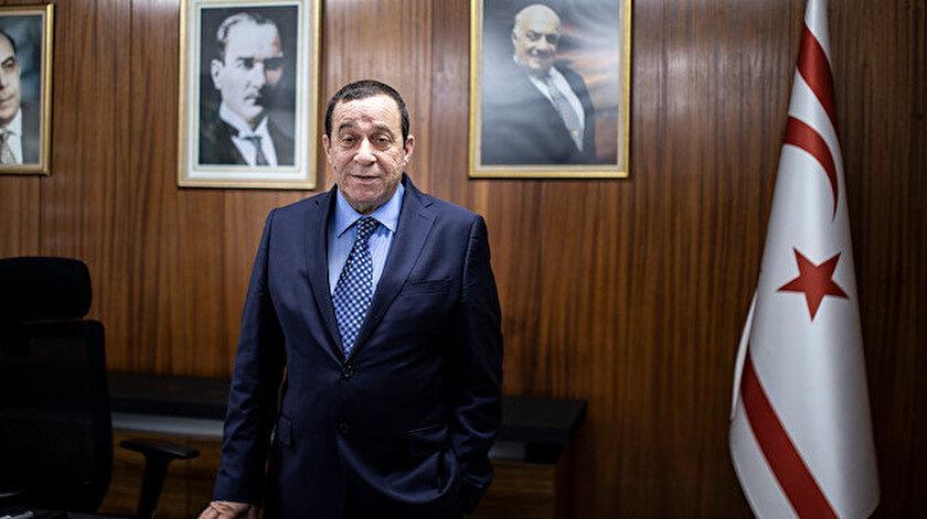 KKTC Kurucu Cumhurbaşkanı Rauf Denktaş'ın oğlu Serdar Denktaş.