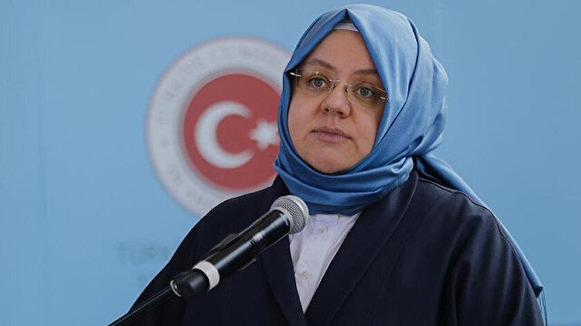 Aile, Çalışma ve Sosyal Hizmetler Bakanı Zehra Zümrüt Selçuk