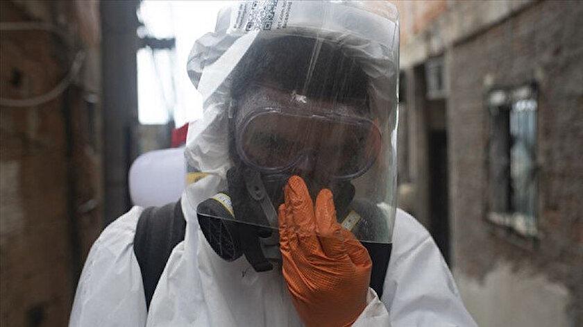 Yeni tip koronavirüs nedeniyle Brezilyada 1129, Meksikada 639, Hindistanda 779 kişi hayatını kaybetti