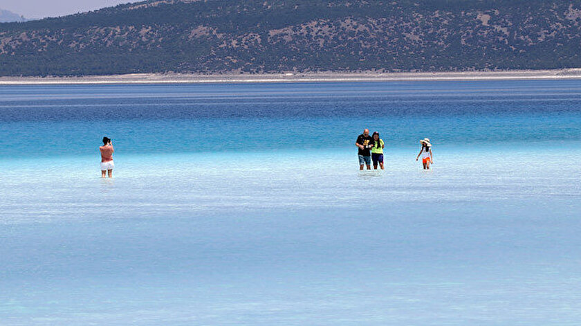 Burdur haberleri... Salda Gölü görselliğinin yanı sıra bilimsel değeriyle de ön plana çıkıyor