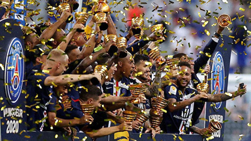Fransa Lig Kupası PSG - Lyon maç özeti izle