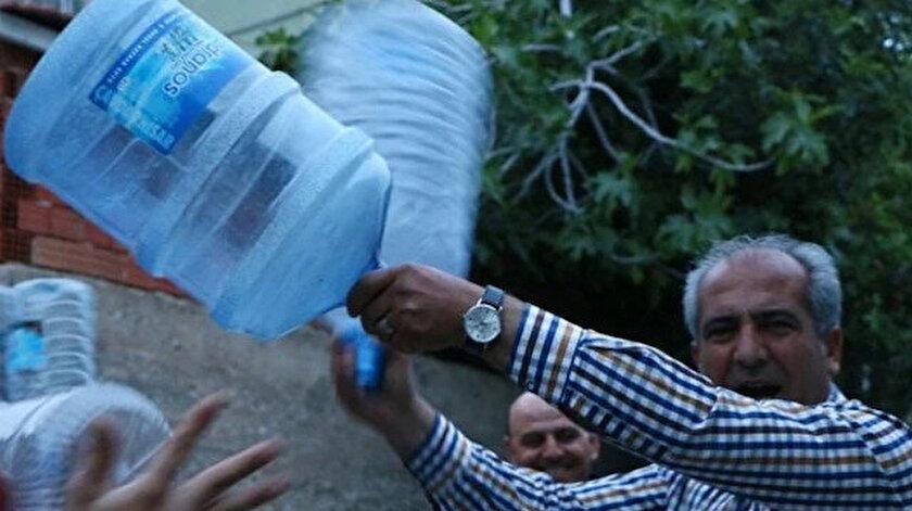 İzmirliler bayram sabahına susuz uyandı.
