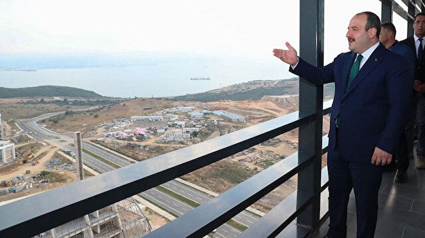 Sanayi ve Teknoloji Bakanı Mustafa Varank geçtiğimiz günlerde Bilim Vadisi'nde incelemelerde bulunmuştu.