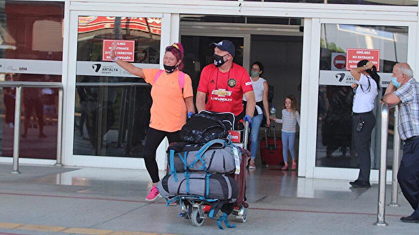 İngilizler, Türkiye'de tatil yapmaktan mutlu.