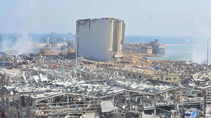 Lübnan'ın başkenti Beyrut'ta dün patlama meydana gelmişti.