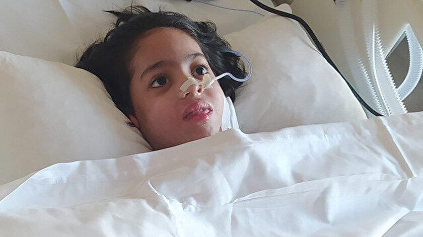 Nefes borusuna oyun hamuru kaçan 7 yaşındaki Cevahir Mukaddes Akar bitkisel hayata girdi.