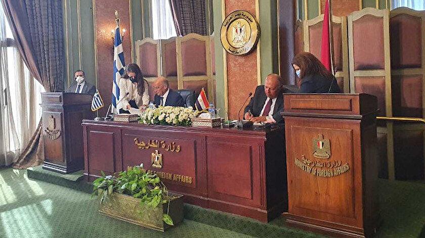 Mısır ve Yunanistan, sözde anlaşmayı bugün imzalamıştı.