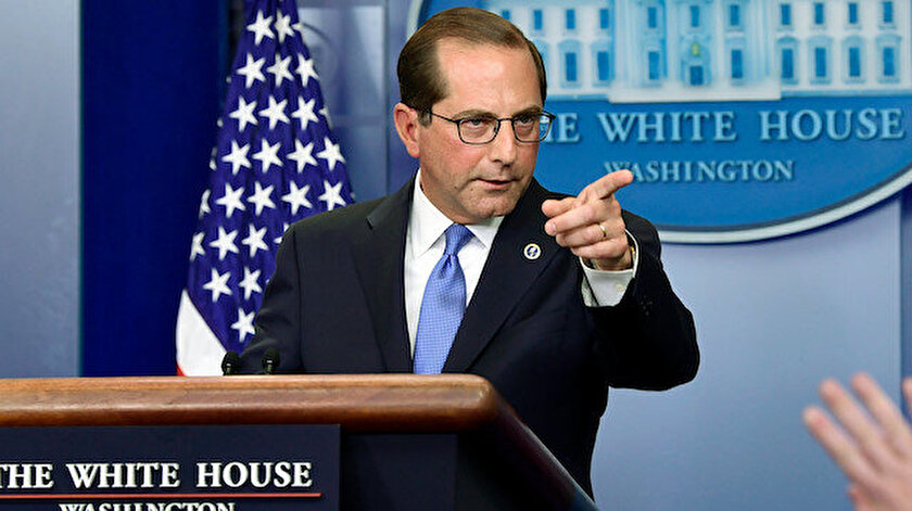 ABD Sağlık Bakanı Alex Azar