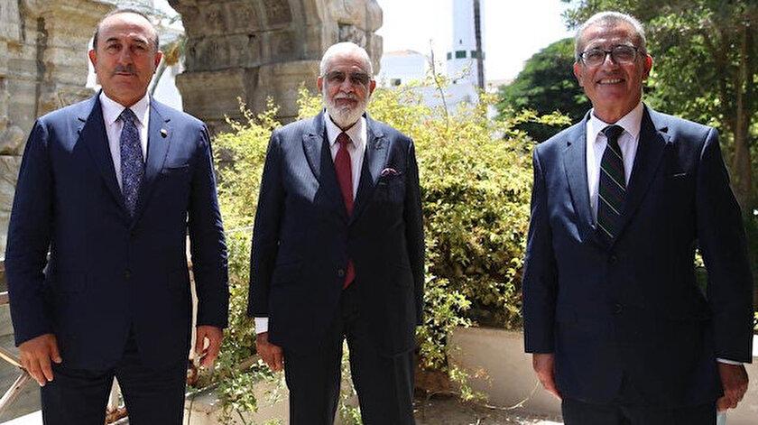Dışişleri Bakanımız Çavuşoğlu - Libya Dışişleri Bakanı Siyala - Malta Dışişleri Bakanı Bartolo