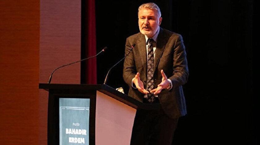Profesör Bahadır Erdem.