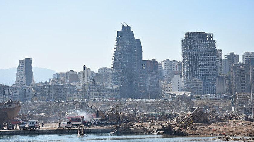 Beyrut Limanı'nda patlama gerçekleşti.