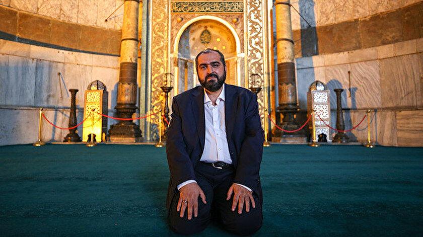Marmara Üniversitesi İslam Hukuku Anabilim Dalı Başkanı Prof. Dr. Mehmet Boynukalın Ayasofya imamlarından biri oldu.