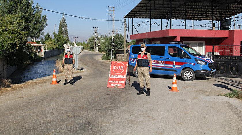Hatay'da da bir mahalle karantinaya alındı.