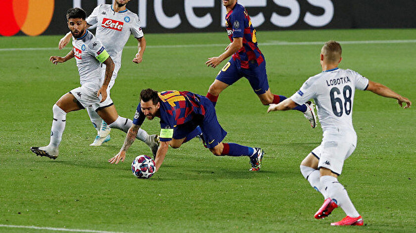 Şampiyonlar Ligi : Barcelona 3-1 Napoli maç özeti ve golleri