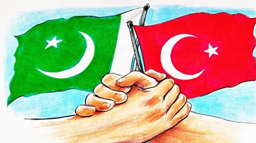 Türkiye ile Pakistan arasındaki sevgi bağı yüz yıllara dayanıyor.