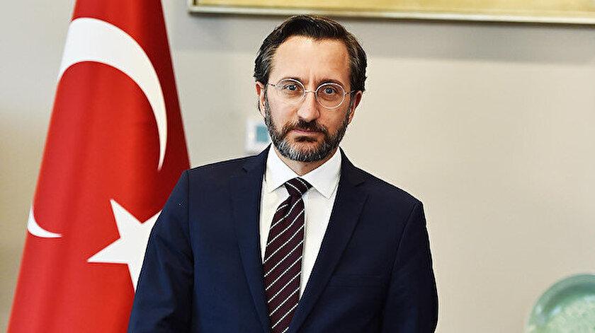 İletişim Başkanı Fahrettin Altun açıklama yaptı.
