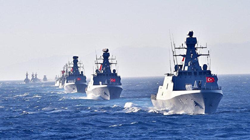 Türk Deniz Kuvvetleri, Mavi Vatan'daki hak ve menfaatlerin korunması için yoğun mesai yapıyor.