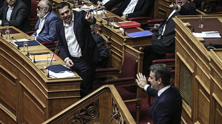 Yunanistan'da hükümet ile muhalefet arasında Doğu Akdeniz tartışmaları alevlendi.