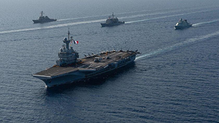 Fransadan Doğu Akdenizde gerilimi tırmandıracak hamle: Türkiyeye karşı en büyük silahını gönderiyor