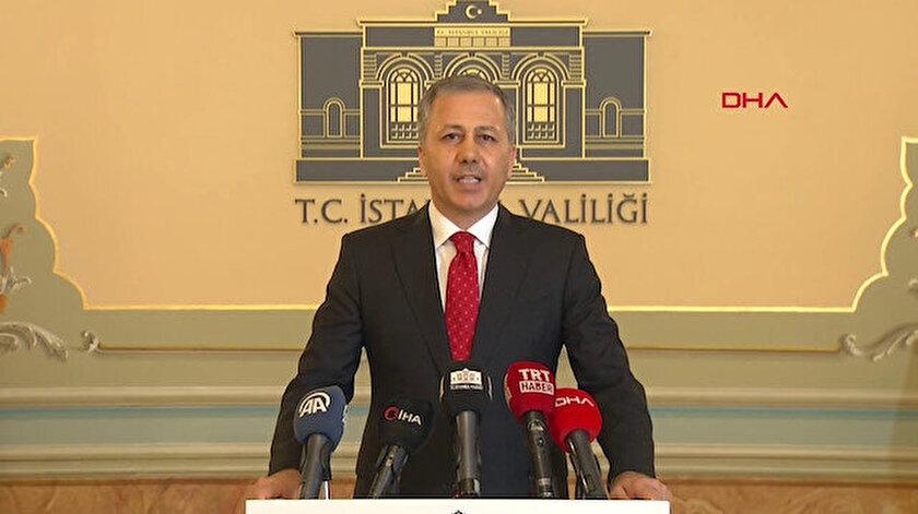 İstanbul Valisi Ali Yerlikaya.