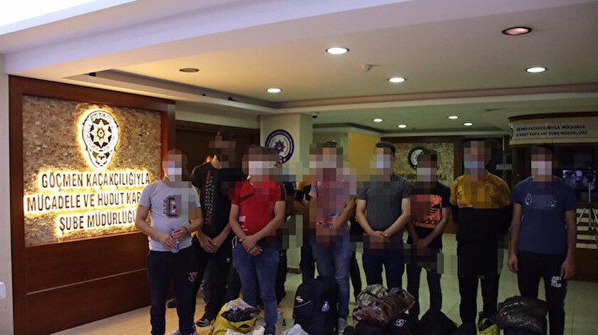 İstanbulda göçmen kaçakçılığı operasyonunda yakalanan kişiler tutuklandı