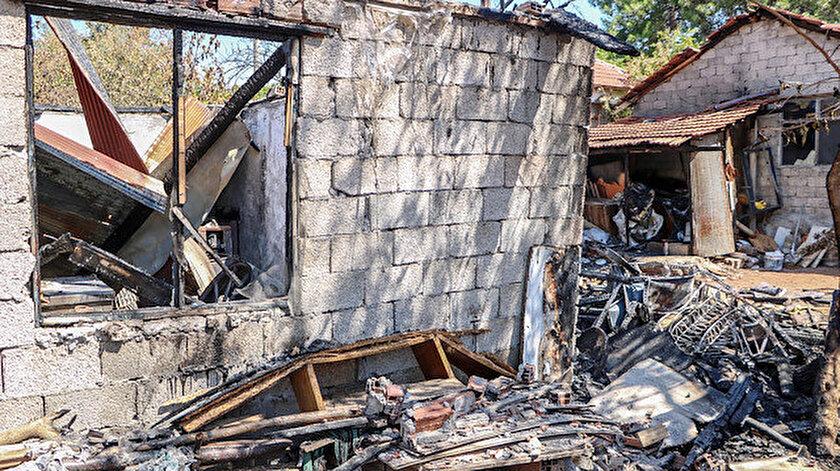 'Çıkmaz sokak' davasını kazanan komşusunu vurup ev ve aracını yaktı.