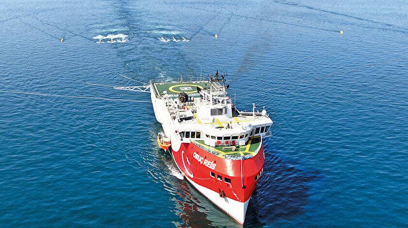 Oruç Reis'ten NATO molası: Müzakere çalışmaları sonrasında kabloları toplayıp limana yanaştı