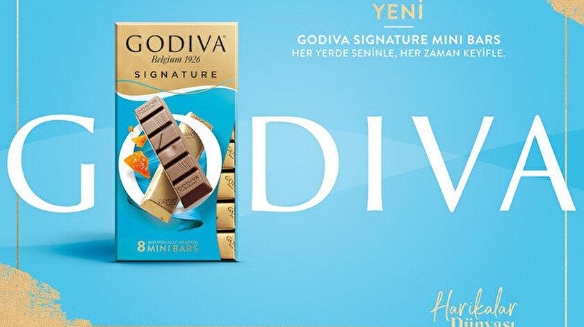 Godıva'dan yeni lezzet: Sıgnature Mini Bars.