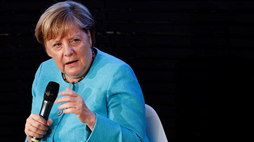 Almanya Başbakanı Angela Merkel.