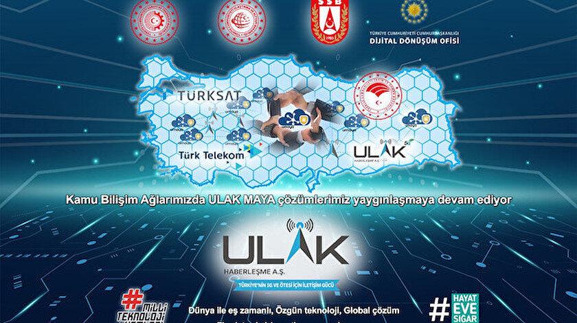 """71 ilde yerli baz istasyonu ULAK'tan """"Alo"""" deniliyor"""