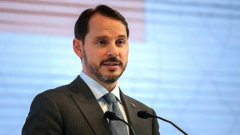 Hazine ve Maliye Bakanı Berat Albayrak açıklama yaptı.