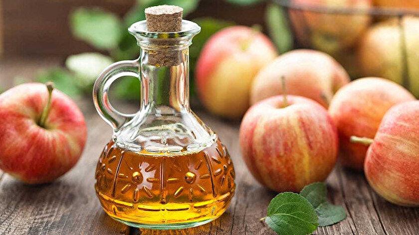 Elma sirkesinde çok fazla vitamin veya mineral yoktur. Sadece az miktarda potasyum bulunur.